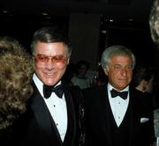 Larry Hagman Leonard Katzman Pallas Press Party
