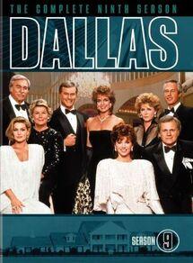 Dallas (1978) Season 9 DVD cover
