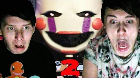 YAY JUMPSCARES! - Dan and Phil play Five Nights At Freddy's 2