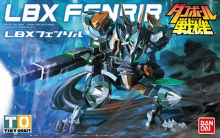 LBX Fenrir Bandai Boxart