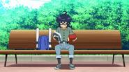 Hiro looking at the mixup