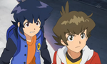 Yamano Ban and Oozora Hiro