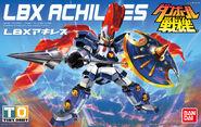 LBX Achilles Bandai boxart
