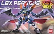 LBX Perseus Bandai boxart