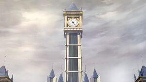 Britannia clock tower