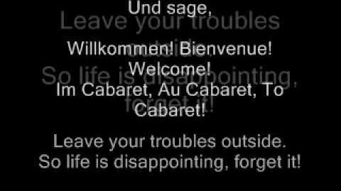 Wilkommen - Cabaret the Movie-2