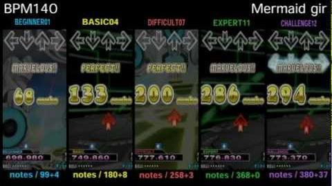 DDR X3 Mermaid girl - SINGLE