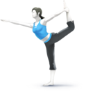 DDRHP - Wii Fit Trainer Artwork