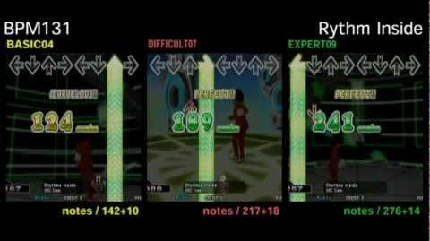 DDR X3 Rhythms Inside - DOUBLE