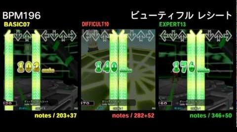 DDR X3 ビューティフル レシート - DOUBLE-0