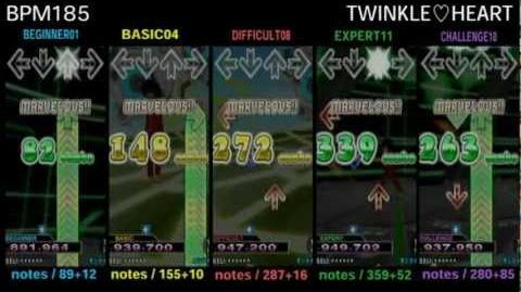 DDR X3 TWINKLE♡HEART - SINGLE
