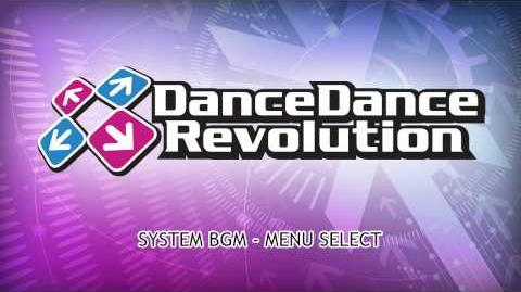 DanceDanceRevolution 2013 AC BGM - Menu & Style Select