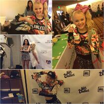 JoJo at Grammy gifting suites