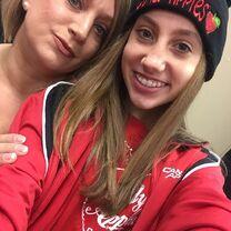 Chloe Smith with mom Liza 2015-01-27