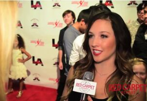 Gianna interviewed by JJ Snyder at opening of ALDC LA