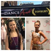 Talia year after winning at The Dance Awards