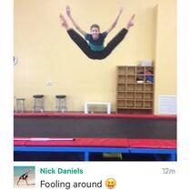 Nick Daniels-Instagram