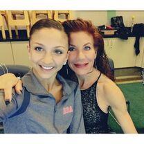Tessa with Renee 2015-05-13