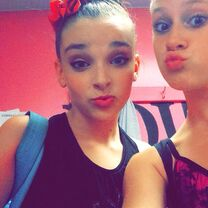 Haley with Kendall 2014-08-22