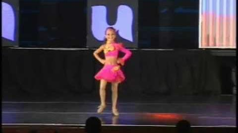 Sunshine and Lollipops - Maddie tap solo 2010
