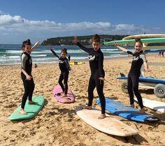 Kendall Mackenzie Kalani Maddie - Australia surfboards 2015-03-13