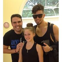 Haley master class Angel and Victor 2014-09-13