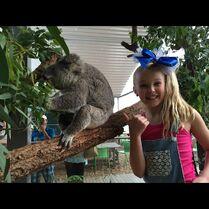 JoJo and koala 2015-03-11