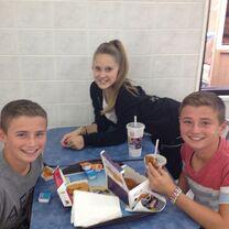 Haley with TravisA and TylerA