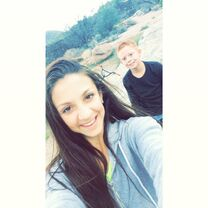 Tessa and brother 2015-03-07