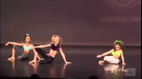 Trio-Girl Fun-Mackenzie Paige And Nia-Dance Moms Ep 12
