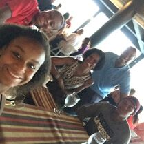 Fraziers at dinner 2015-06-29