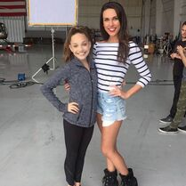 Maddie with Charlotte 2015-02-01