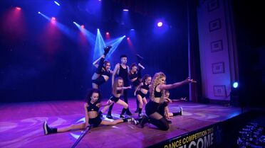 203 group onstage