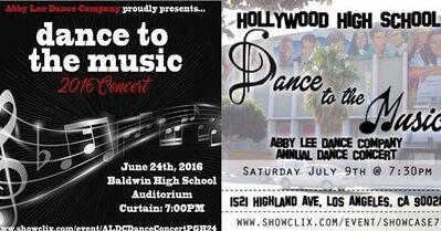 ALDC Dance Concert Pgh and LA