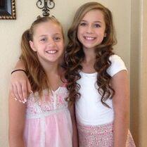 Talia and Kayla 2014-06-13