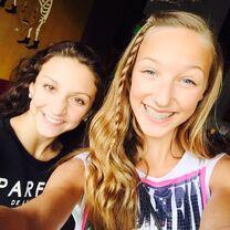 Ava and Tessa 2015-06-25