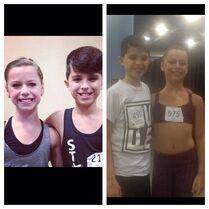 Talia and Lucas in Miami 2013-10-02