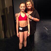Chloe N with Abby