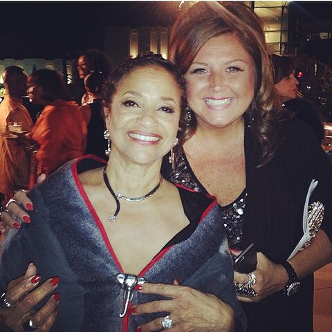 File:505 Abbie with Debbie Allen (and DADA - DA Dance Academy) - Friday 7Nov2014.jpg