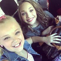JoJo with Maddie 2015-01-27