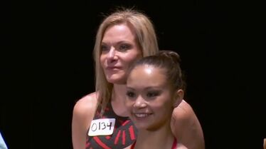Kim and Chloe Ngyen at Orlando auditions Abby Strikes Back
