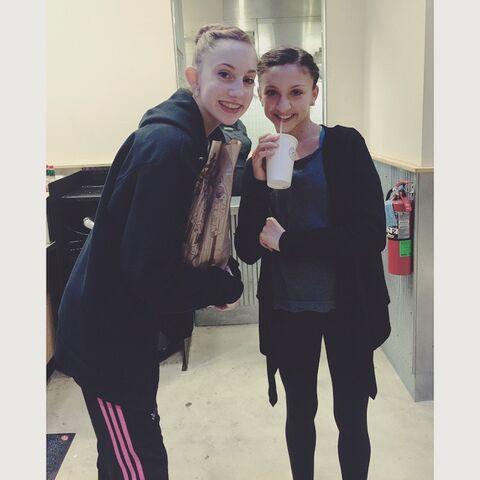 File:Chloe Smith and Tessa Wilkinson - 2015-05-09.jpg