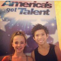 Kaycee Rice and Gabe de Guzman - Americas Got Talent 2014-06-17