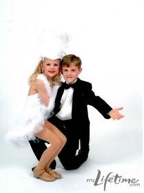 Paige and Josh recital picture