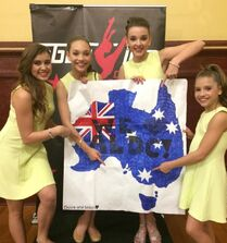 Dance Moms Australia tour photo