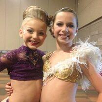 Talia and Brynn 2013-04-08