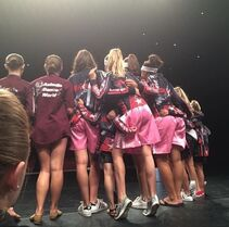 701 Girls on stage at awards