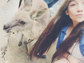 Kamryn kangaroo Australia 1May2015