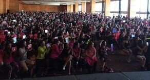 Crowd at Monterrey Mexico event 2014