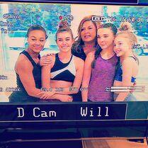 716 Girls on set